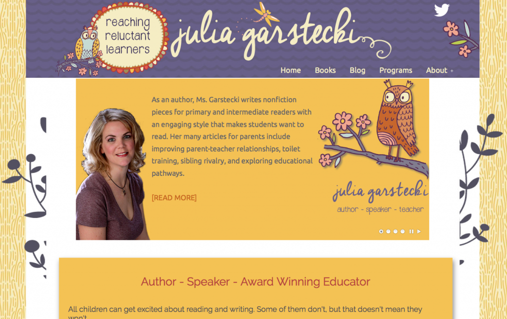 Julia Garstecki – Author