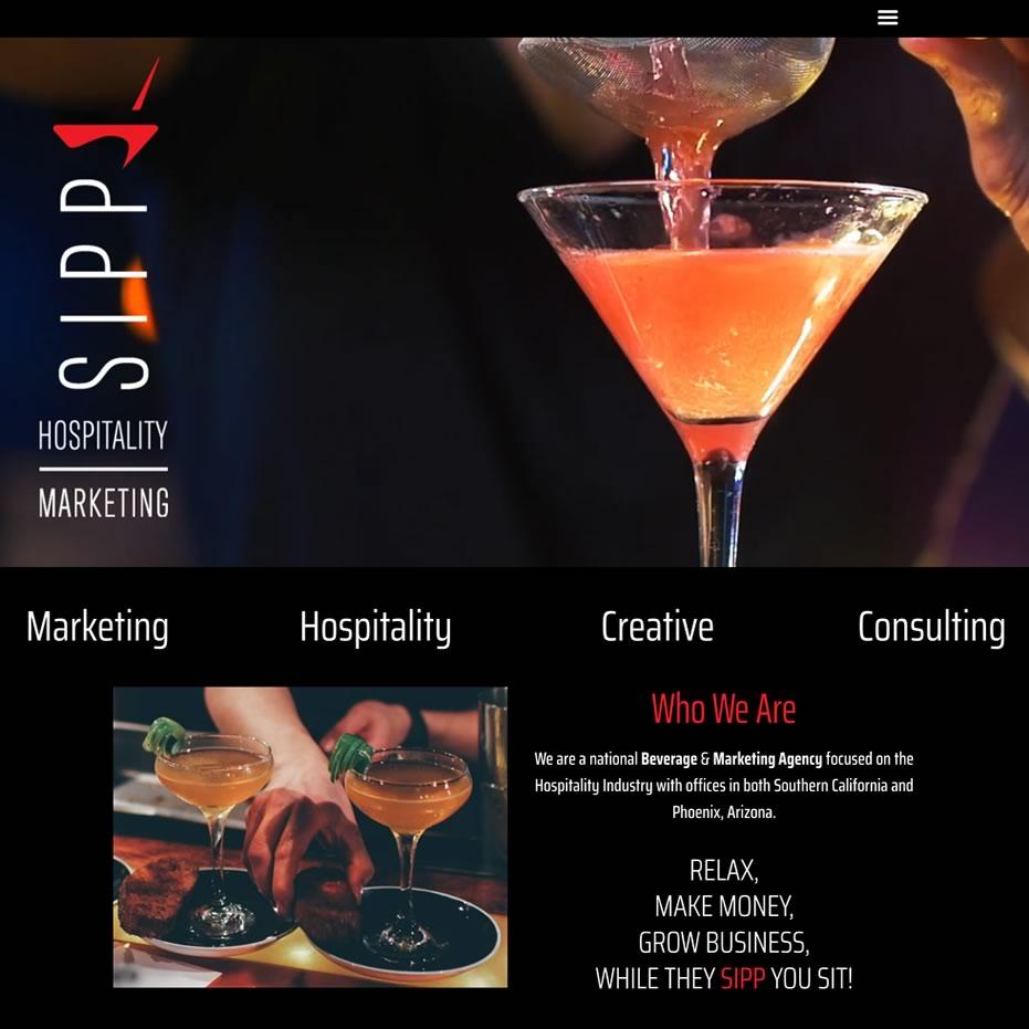 sippmarketing.com website screenshot