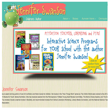 Jennifer Swanson Books
