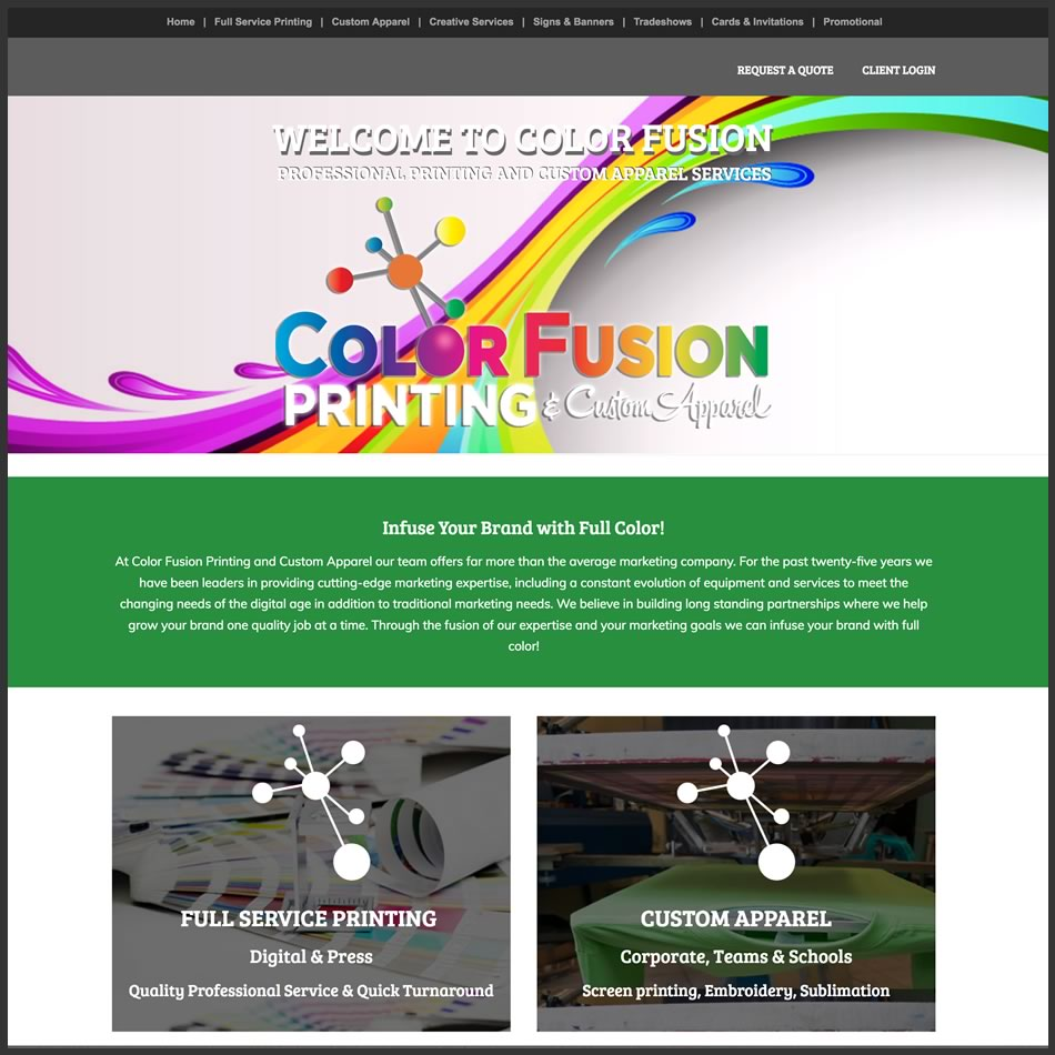 Color Fusion Printing
